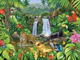 jungle animal background. Unique Background ANIMALS OF THE JUNGLE On Jungle Animal Background