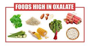 A List Of 112 Foods High In Oxalate Oxalic Acid