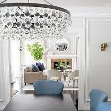 robert abbey bling oval chandelier