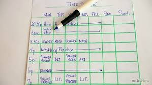 Make A Time Schedule Ishwar Tuition Classes How To Make A Good Time Table For Study