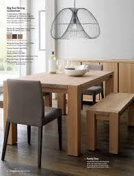 Dining Set Crate And Barrel Dining Table Wood Dining Table With