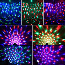 Amazon.com: LED Disco Ball Party Lights - Renoliss Remote Control Disco  Lights Karaoke Machine 3W Dj Light LED Portable 7Colors Sound Activated  Stage Lights ...