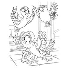 Small Picture Top 15 Rio Movie Coloring Pages For Your Little Ones