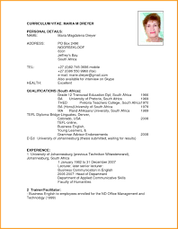 Funky English Resume Template Ornament Documentation Template