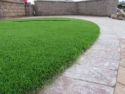 Grass Lawn Landscape Edging Ideas For Artificial Lawns Install It