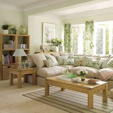 Green and Brown Living Room Decor, needs more color but would be good to  keep