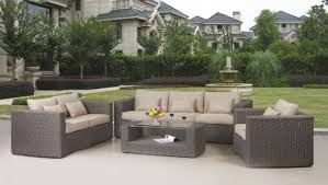 Small Picture All Set Resin Wicker Furniture At Whole Outdoor Best Outdoor Patio