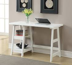 home office work table. White Computer Desk Shelf Storage Furniture Home Office Wood Craft Work Table Picture Of S L T