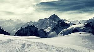 Snow cap mountain, landscape, mountains ...