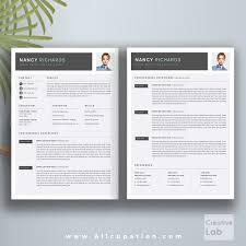 Best Selling Resume Bundle The Nancy Rb Cv Bundle Cover Letter