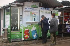 Milk In Vending Machines