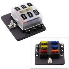 12v 30v 6 way blade fuse box holder 20a 15a 10a 5a car circuit blade image is loading 12v 30v 6 way blade fuse box holder