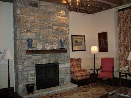 natural stone fireplaces interior top