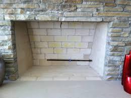 masonry fireplaces typical masonry firelace with a log lighter
