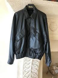 Bally Jacket Size Chart Vtg Mens Bally Of Switzerland Size 38 Buttery Soft Leather