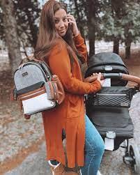 Itzy Ritzy - Coffee & Cream Itzy Mini™ Diaper Bag Backpack – Nurzery.com