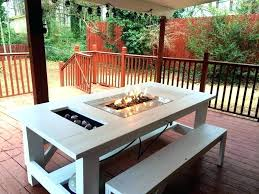 image of outdoor patio furniture with fire pit gas fire outdoor fire pits and grills