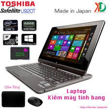 Laptop kiêm máy tính bảng Toshiba Satellite U920T Core i5-3317U, 4gb Ram,  128gb SSD,màn hình 12.5 inch cảm ứng - TÔI BÁN HÀNG HIỆU