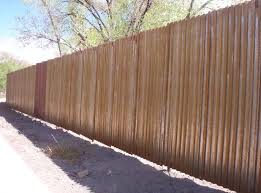 corrugated metal privacy fence. Unique Metal Fence  How To Build Corrugated Metal Retaining Wall And  Cedar Wind Price Per Foot A  On Privacy