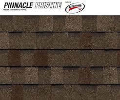 dimensional shingles. Pinnacle Pristine Featuring Scotchgard? Protector - Weathered Dimensional Shingles
