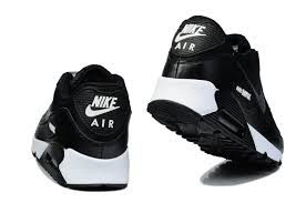 nike shoes air max black 90. nike air max 90 men black with gray logo shoes s