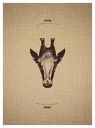 print ad leo burnett. Jeep Print Ad - Giraffe Leo Burnett L