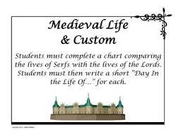 Middle Ages And Renaissance Comparison Chart Middle Ages Daily Life Comparison Middle Renaissance