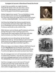 best third monday patriot s day images  battle of lexington and concord poem