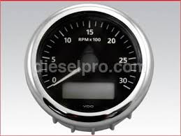 electrical tachometers 12 volts vdo 126 tachometer 0 to 3000 rpm electrical 12 24 volts