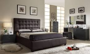 brown leather bedroom furniture. Athens Bedroom Set Brown 1 942 75 Furniture Store Shipped Leather R