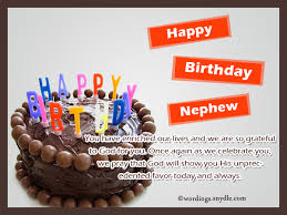 Nephew Birthday Messages Happy Birthday Wishes For Nephew