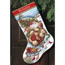 Cross Stitch Stocking Patterns Classy Christmas Stockings Cross Stitch Patterns Kits Page 48