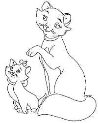 Aristocats Pictures Coloring Home