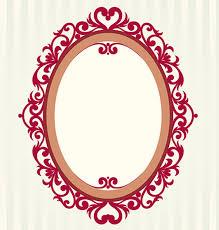 vintage frame design oval. Free Vector Oval Vintage Frame Design