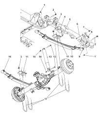 Dakota pickup chassis array suspension rear leaf springs for 2006 dodge dakota rh moparpartsgiant