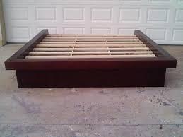 platform bed without headboard designs  bedroom ideas