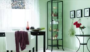 glass cabinet furniture. KLINGSBO Glass-door Cabinet, Black, Clear Glass Cabinet Furniture