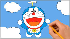 Color doraemon ドラえもん coloring book shizuka minamoto colouring best coloring pages for kids.coloring for kids. How To Draw Doraemon Flying With Propeller Coloring Book Page And Drawing Learn Colors For Kids Youtube