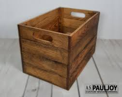 pallet furniture etsy. pallet storage crate rustic distressed wooden recycled box natural patina apple wedding decoration photography furniture etsy t