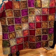 Batik Rag Quilt : AccuQuilt & image Adamdwight.com