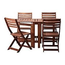 ikea outdoor patio furniture.  Patio PPLAR Table And 4 Folding Chairs Outdoor On Ikea Outdoor Patio Furniture A