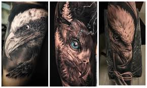 тату орел значение у мужчин и девушек Tattooassist
