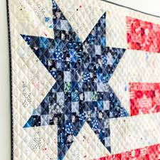 Patriotic Quilt Patterns Magnificent Dear Miss Betsy A Patriotic Quilt For Lovers SewCanShe Free