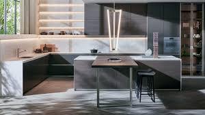 Modular Kitchen Handle Design Dada Prime The Italian Design Modular Kitchen
