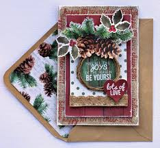 Scrapbooking Christmas Cards Designs Joys Of The Season Christmas Card Kaisercraft Scrapbook