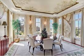 wall and ceiling mural