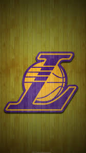 los angeles lakers 2017 nba basketball hardwood team logo wallpaper for iphone andriod and windows mobile
