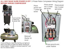 3 phase air compressor wiring diagram wiring diagram and wiring magic definite purpose starters for pressor the