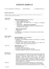 Newest Resume Format Standard Cv Cover New Download Accountant Doc