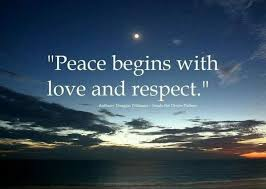 Love Peace Quotes Inspiration 48millionmiler Peace Begins With Love Respect Quotes